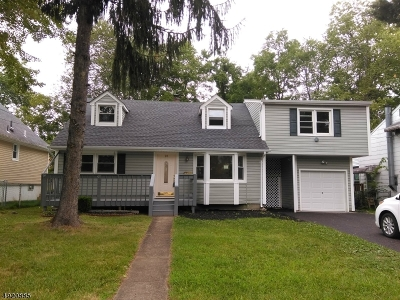 Parsippany-Troy Hills Twp. Single Family Home For Sale: 26 Chesapeake Ave