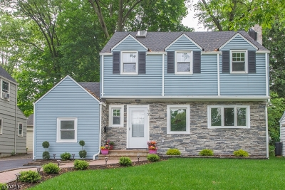 Montclair Twp. Single Family Home For Sale: 17 Graham Terrace