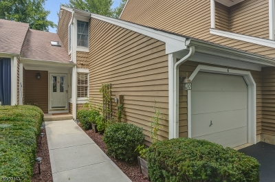 Bedminster Twp. Condo/Townhouse For Sale: 6 Calgery Ln