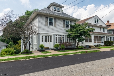 Boonton Town Single Family Home For Sale: 414 Hill St