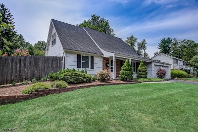 Franklin Twp. Single Family Home For Sale: 190 Berger St