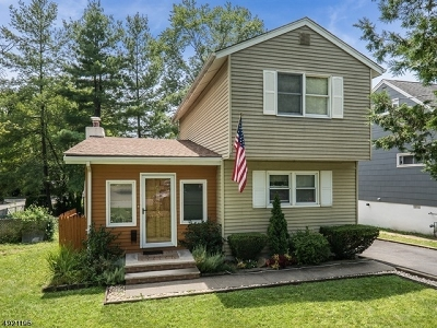Parsippany Single Family Home For Sale: 41 Beechwood Ave