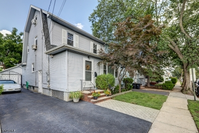 Hillside Twp. Single Family Home For Sale: 47 Looker St