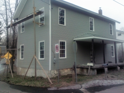 Union Twp. Single Family Home For Sale: 571 Main St Pattenburg