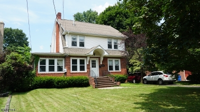 Scotch Plains Twp. Multi Family Home For Sale: 1935 Mountain Ave