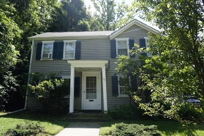 Maplewood Twp. Single Family Home For Sale: 20 Tuscan Rd