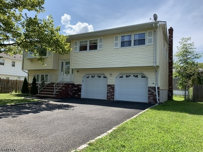 Parsippany Single Family Home For Sale: 27 Rockaway Blvd
