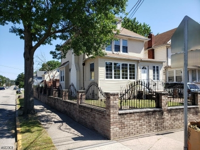 Paterson City Single Family Home For Sale: 621-623 20th Ave