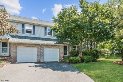 Edison Twp. Condo/Townhouse For Sale: 51 Hawthorn Dr