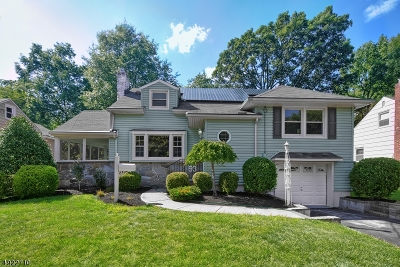 Fanwood Boro Single Family Home For Sale: 93 Coriell Ave