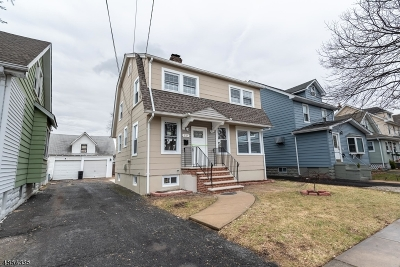 Roselle Park Boro Single Family Home For Sale: 225 Pershing Ave