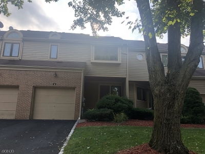 Montville Twp. Condo/Townhouse For Sale: 4 Adina Ter
