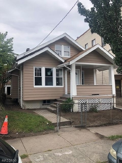 Paterson City Single Family Home For Sale: 388-390 10th Ave