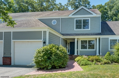 Morris Twp. Single Family Home For Sale: 4 Woodcrest Dr