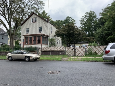 Paterson City Single Family Home For Sale: 93-97 N 9th St