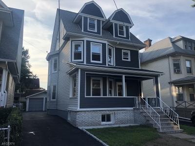 Newark City Single Family Home For Sale: 884-886 Lake St