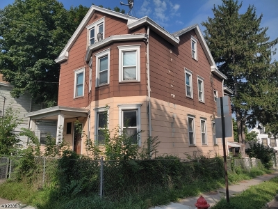 Paterson City Multi Family Home For Sale: 155 N 9th St