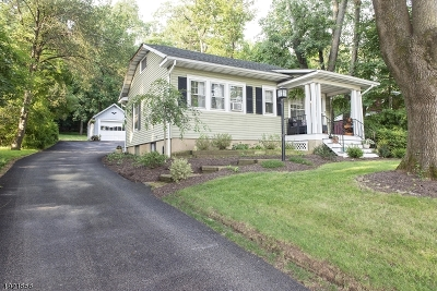 Bridgewater Twp. Single Family Home For Sale: 2015 Washington Valley Rd