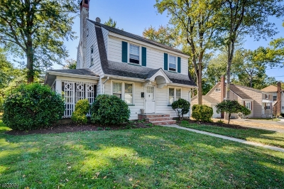 North Plainfield Boro NJ Single Family Home For Sale: $249,900