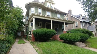 Newark City Single Family Home For Sale: 602-604 Clifton Ave