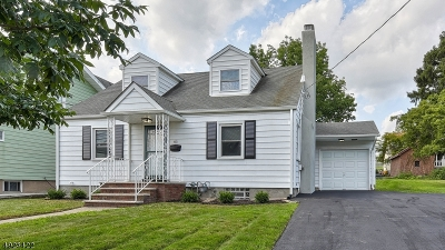 Clifton City Single Family Home For Sale: 85 Fornelius Ave