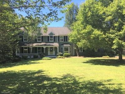Tewksbury Twp. Single Family Home For Sale: 23 Salters Farm Rd