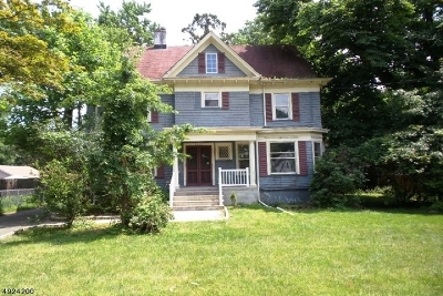 Union County Single Family Home For Sale: 1027-31 Myrtle Ave
