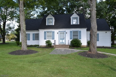 Branchburg Twp. Single Family Home For Sale: 505 Clinton Street