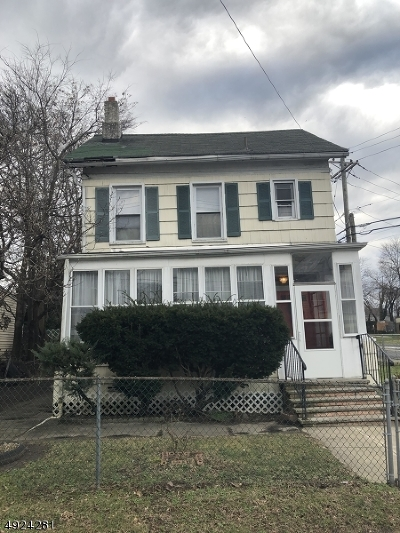 Paterson City Single Family Home For Sale: 159-163 Belmont Ave