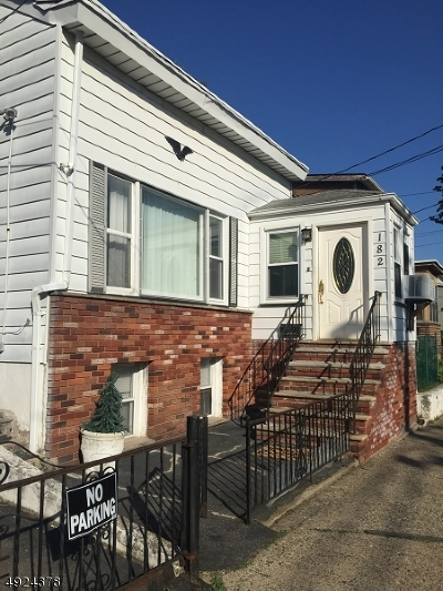 Paterson City Single Family Home For Sale