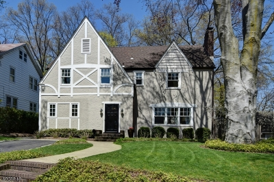 Westfield Town NJ Single Family Home For Sale: $765,000
