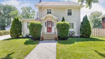 Cranford Twp. Single Family Home For Sale: 22 Holly St