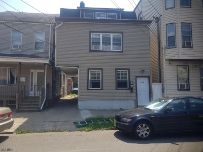 Paterson City Multi Family Home For Sale: 292 20th Ave