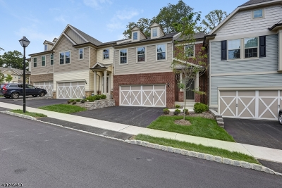 Randolph Twp. Condo/Townhouse For Sale: 5 Brompton Pl
