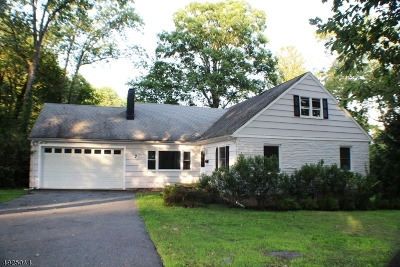 Mountain Lakes Boro Single Family Home For Sale: 7 Powerville Rd