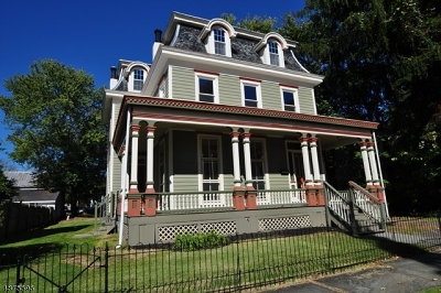 Frenchtown Boro Single Family Home For Sale: 23 5th St