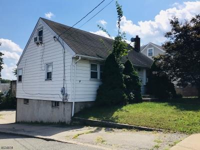 Totowa Boro Single Family Home For Sale: 190 Union Blvd