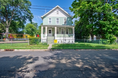 Linden City Single Family Home For Sale: 713 Bergen Ave