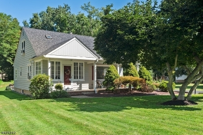 Hunterdon County, Somerset County Single Family Home For Sale: 276 Greenbrook Rd