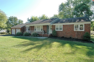 Parsippany-Troy Hills Twp. Single Family Home For Sale: 34 Union Rd