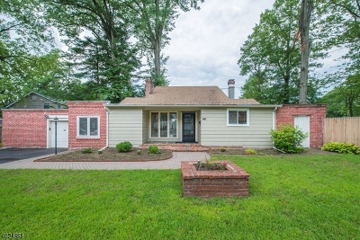 Parsippany-Troy Hills Twp. Single Family Home For Sale: 46 Califon Rd