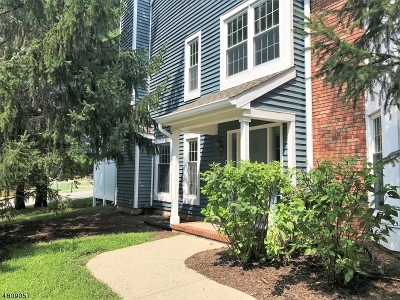 Rockaway Twp. Condo/Townhouse For Sale: 133 Hawthorne Ct