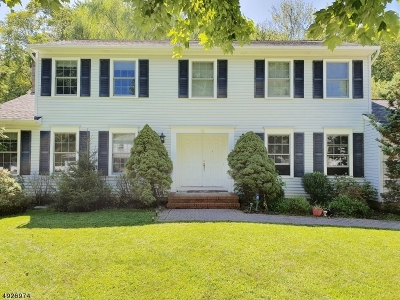 Parsippany-Troy Hills Twp. Single Family Home For Sale: 19 Fox Run
