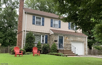Cranford Twp. NJ Single Family Home For Sale: $539,900