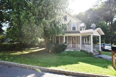 Branchville Boro Single Family Home For Sale: 28 Mill St