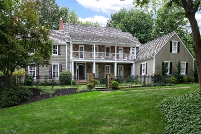 Montgomery Twp. Single Family Home For Sale: 47 Colfax Rd