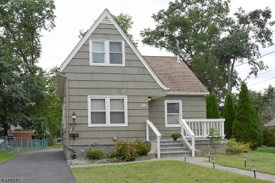Parsippany-Troy Hills Twp. Single Family Home For Sale: 37 Madison Ave