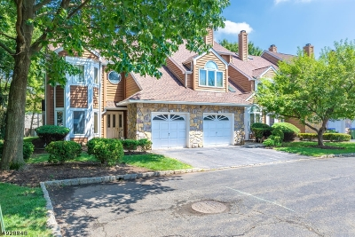 Edison Twp. Condo/Townhouse For Sale: 92 Kingswood Ct
