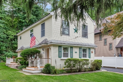Boonton Twp. Single Family Home For Sale: 17 Tourne Rd