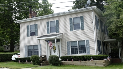 Warren County Multi Family Home For Sale: 205 Route 46